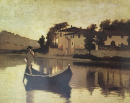 Macchiaioli painter Giuseppe Abbati